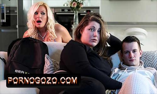 Sam Bourne Não consegue ficar fisicamente com a namorada mas está excitado com a mãe dela Michelle Thorne PornoGozo