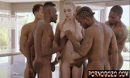 Videos pornos mais vistos loirinha branquinha escravinha de vários africanos